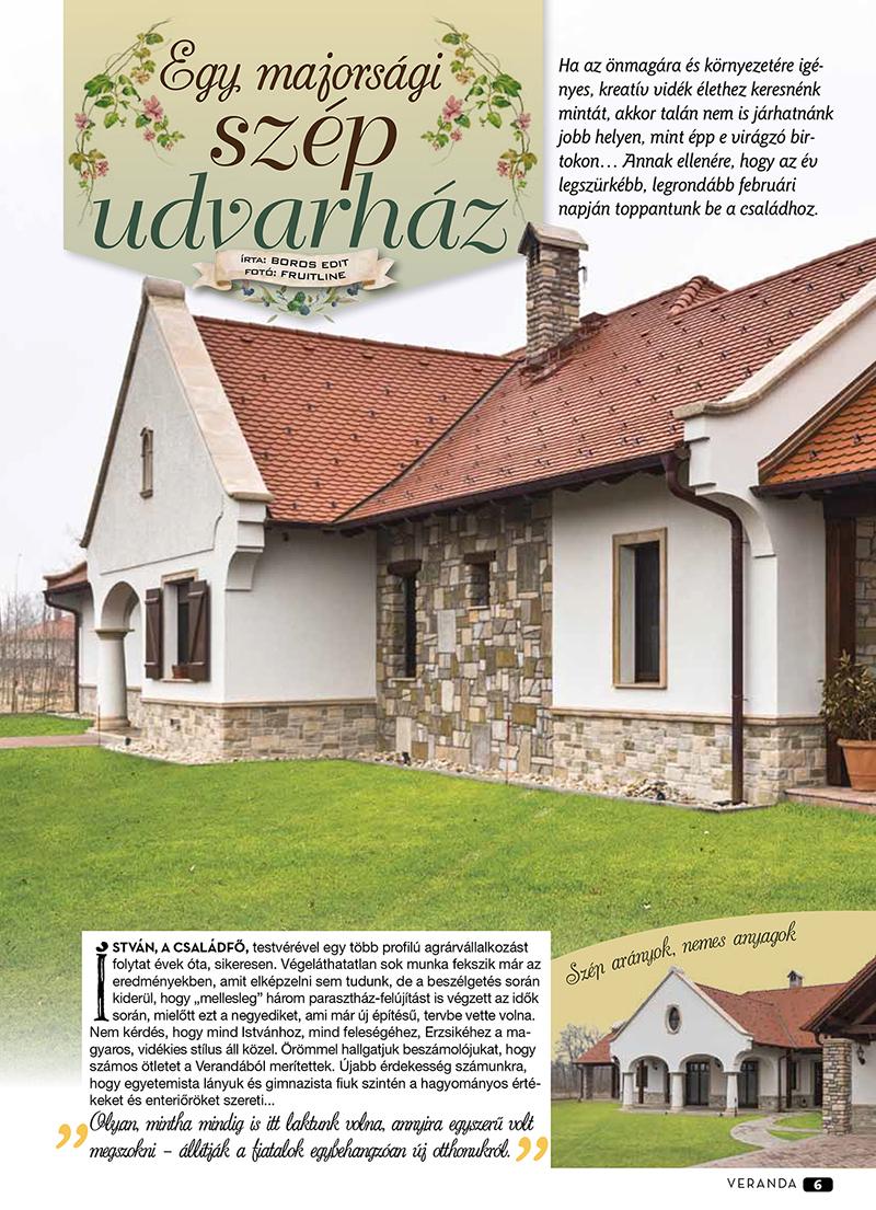 Veranda - egy majorsági szép udvarház